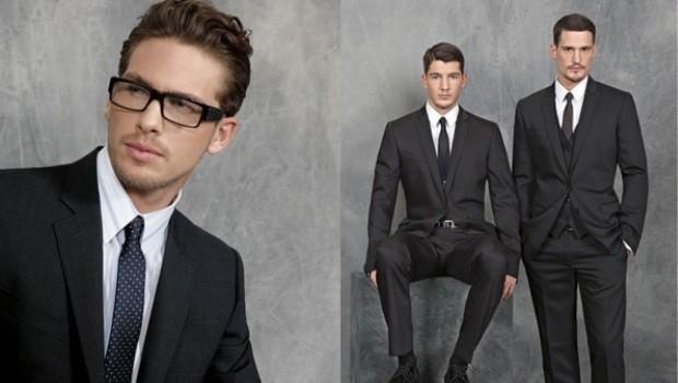 Приталенные костюмы мужские