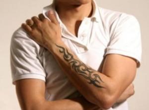 узоры тату фото мужские на плече